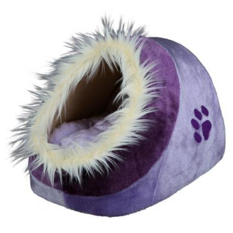 Лежак Minou, 35х26х41 см, лиловый/фиолетовый