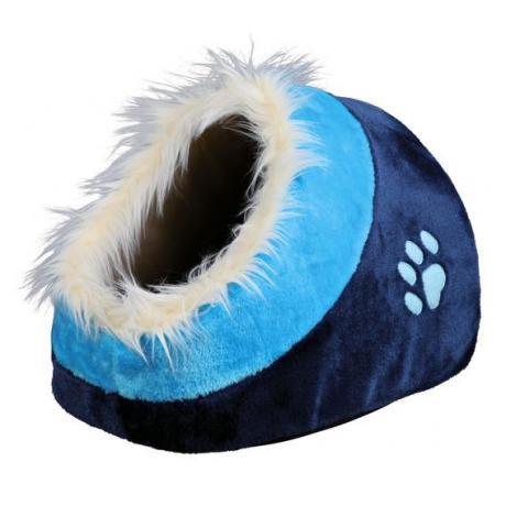 Лежак Minou, 35х26х41 см, синий