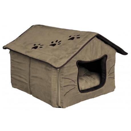 Лежак- пещера для кошек Hilla, 35x30x40 см, песочный