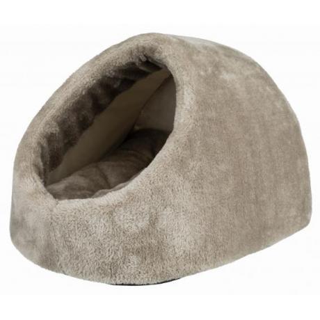 Лежак-пещера Lilo,  35 х 26 х 41 см, серый