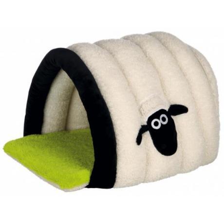 Домик-пещера Shaun the sheep, 45 x 35 x 50 см, кремовый/зелёный