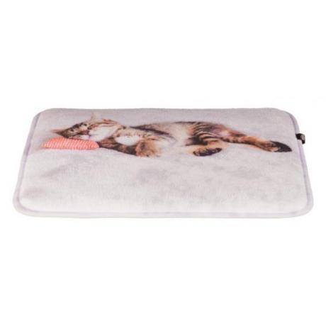 Лежак Nani, 40 × 30 см, серый
