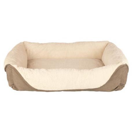 Лежак с бортиком Pippa, 60 x 50 см, светло-коричневый/бежевый
