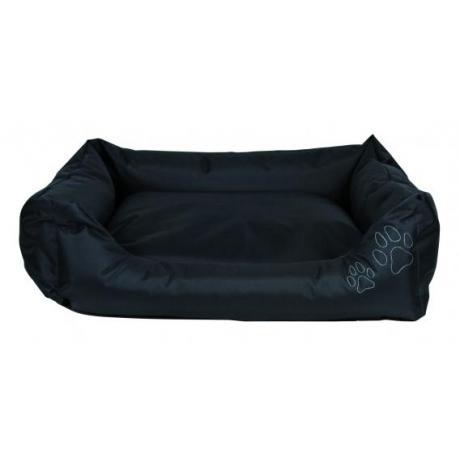 Лежак с бортиками Drago, 60х50 см, нейлон, чёрный