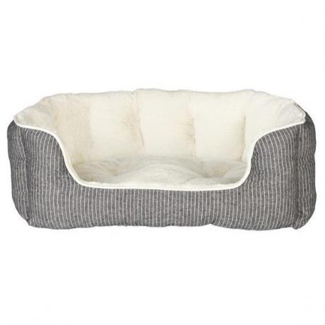 Лежак Davin, 50 × 40 см, серый/кремовый