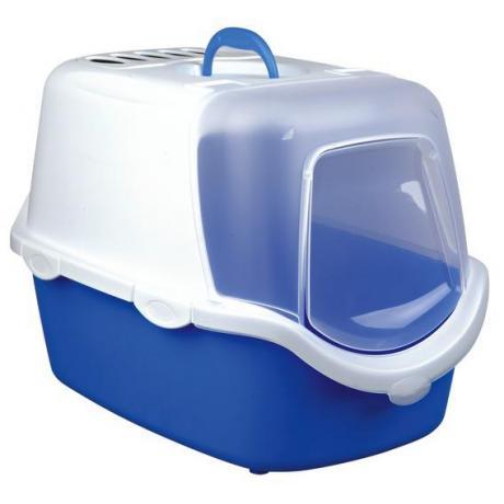 Туалет-домик Vico Open Top , 40 × 40 × 56 см, бирюзовый/белый