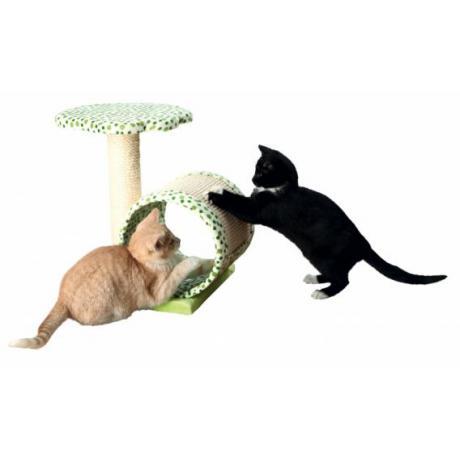 Когтеточка Calina для котят, 40 см, зелёная