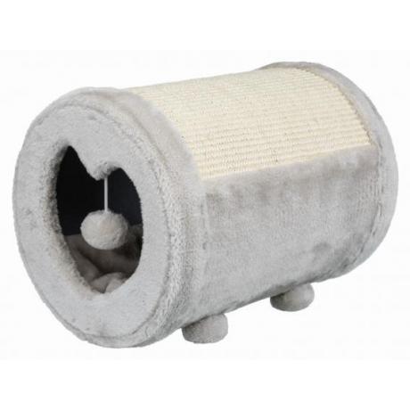 Когтеточка-бочонок, ø 27 × 39 cм, серый