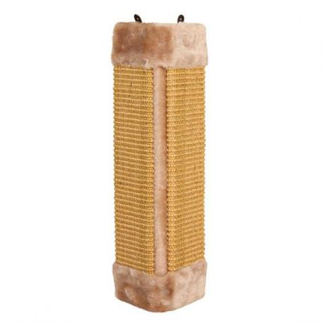 Когтеточка-доска угловая, коричневый