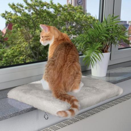 Лежак для кошки на подоконник, 51 х 36 см