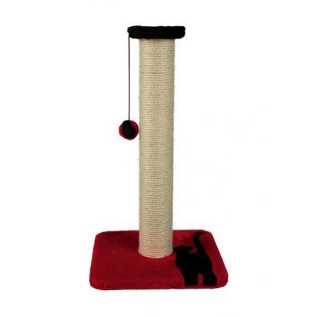 Когтеточка-столбик Mendi, 61 см, красный/чёрный