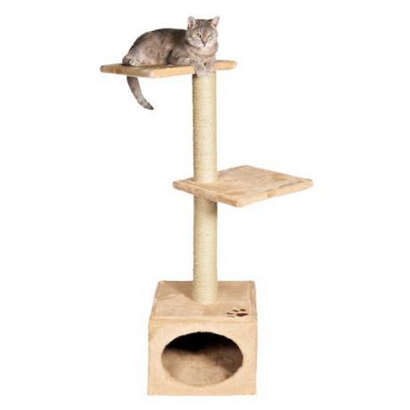 Домик игровой для кошек Badalona, 109 см, бежевый