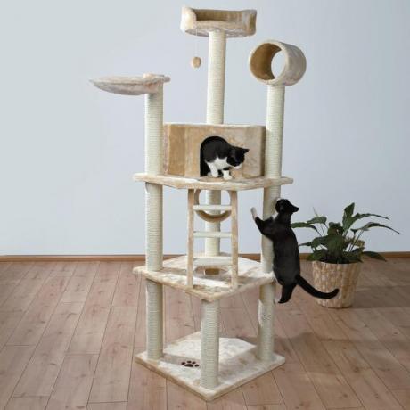 Домик для кошки Montilla, 197 см, бежевый