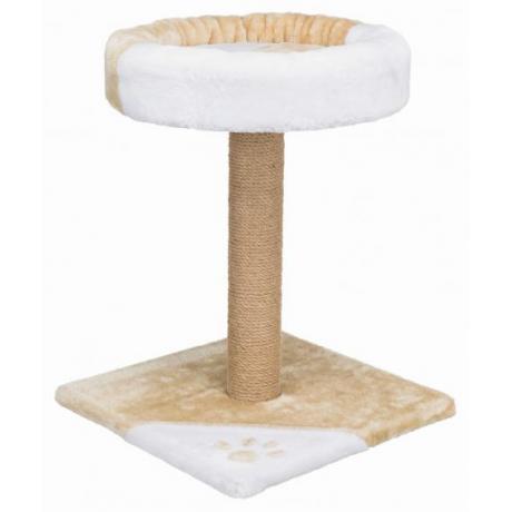 Домик для кошки Tarifa, 52 cм, бежевый/белый