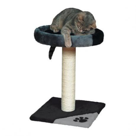 Домик для кошки Tarifa, 52 см, серо-чёрный