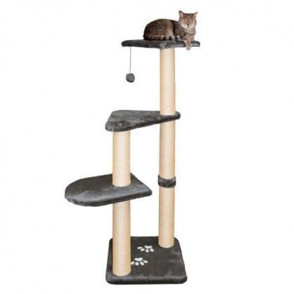 Домик игровой комплекс когтеточка для кошек Altea, 117 см, серый