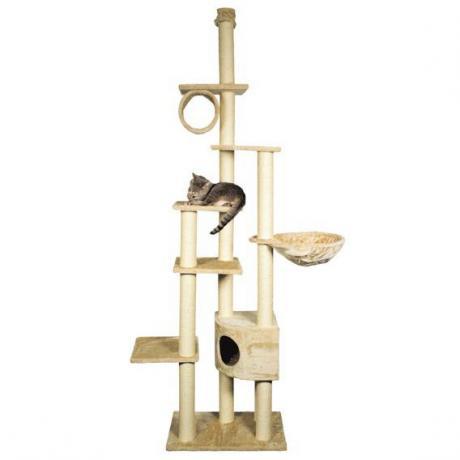 Домик игровой комплекс для кошек Madrid, 240 - 270 см, бежевый