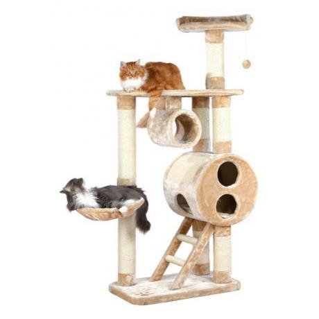 Домик для кошки Mijas, 176 см, плюш, бежевый