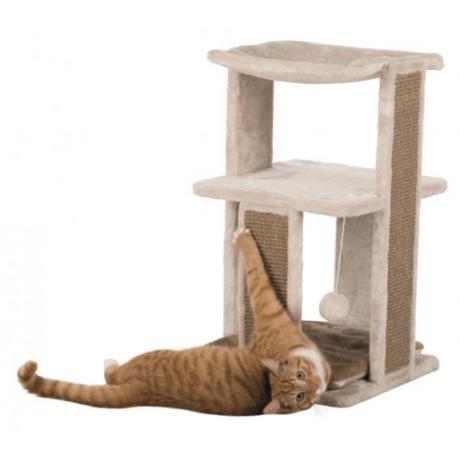Домик для кошки Eugen, 67 см, светло-серо-бежевый/коричневый