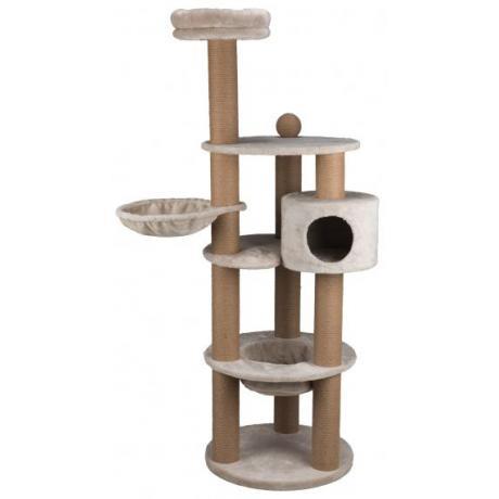 Домик для кошки Nigella, 177 см, светло-серый