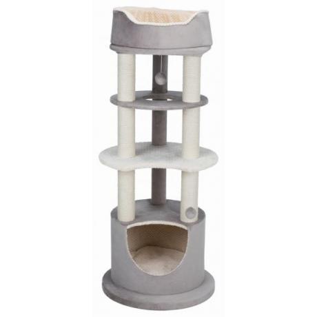Домик для кошки Lavinia, 138 cм, капучино/кремовый