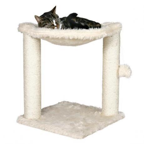 Когтеточка игровая Baza для кошек 50 см, бежевый