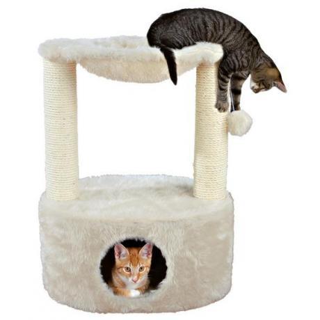 Домик для кошки Grande, 70 см, кремовый