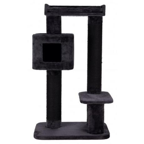 Домик игровой для кошек XXL Izan, 122 см, антрацит