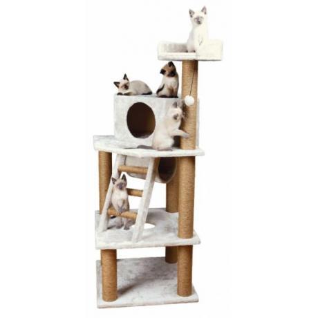 Домик для кошки Marlena, 151 см, светло-серый