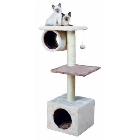 Домик игровой для кошек Sina, 106 см, кремовый/капучино