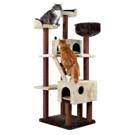 Домик для кошки Felicitas, 190 см, коричневый/бежевый