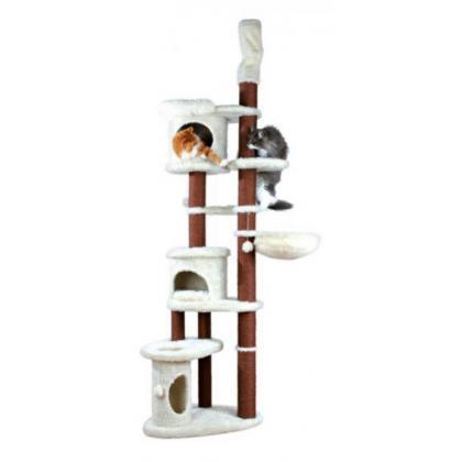 Домик когтеточка для кошек Olivia, 220-250 см, бежевый