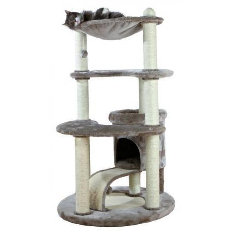 Домик для кошки Patricia, 140 см, серый