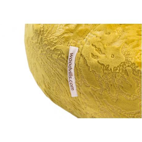 """Лежанка-пончик """"Уют"""" для кошек желтая 75 см"""