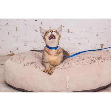 """Лежанка """"Estel"""" для кошек бежевая 60 см"""