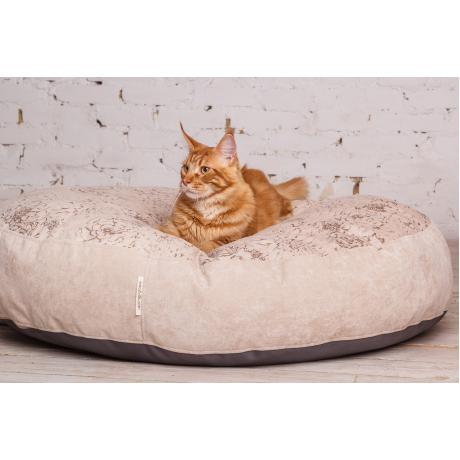 """Лежак """"Estel"""" для кошек бежевая 80 см"""