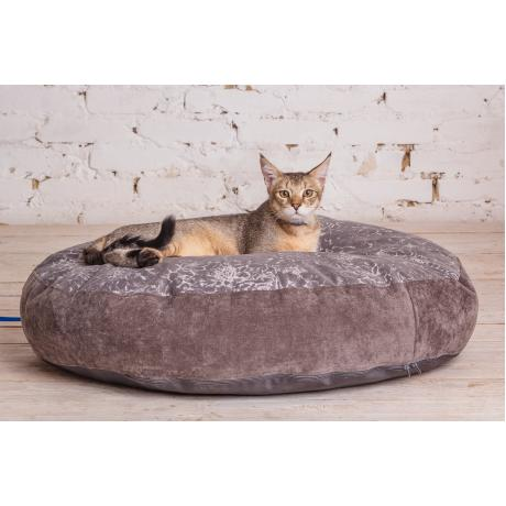 """Лежак """"Estel"""" для кошек серебро 100 см"""
