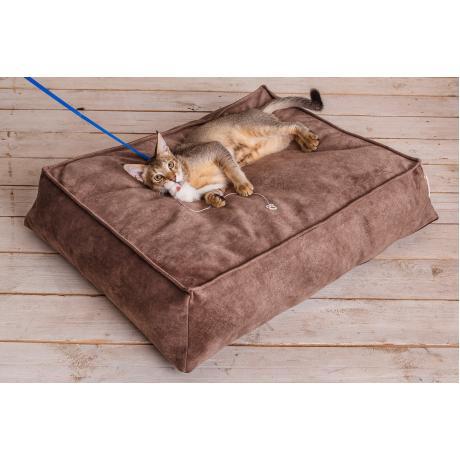 "Лежак-трапеция ""Браун""  для кошек 80х100 см"