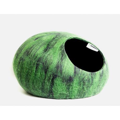 Домик для кошек Слипер WoolPetHouse, мультиколор зеленый