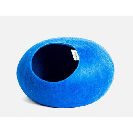 Домик для кошек Слипер WoolPetHouse, синий