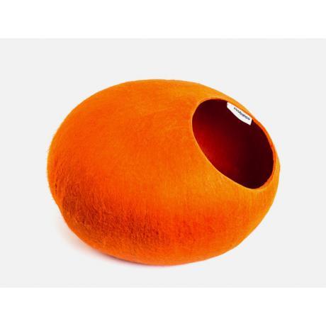 Домик для кошек Слипер WoolPetHouse, оранжевый